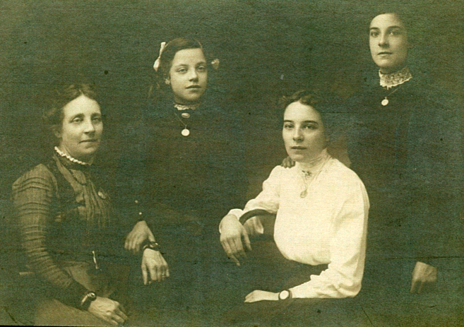 "Photograph described ""Beaton Girls"""