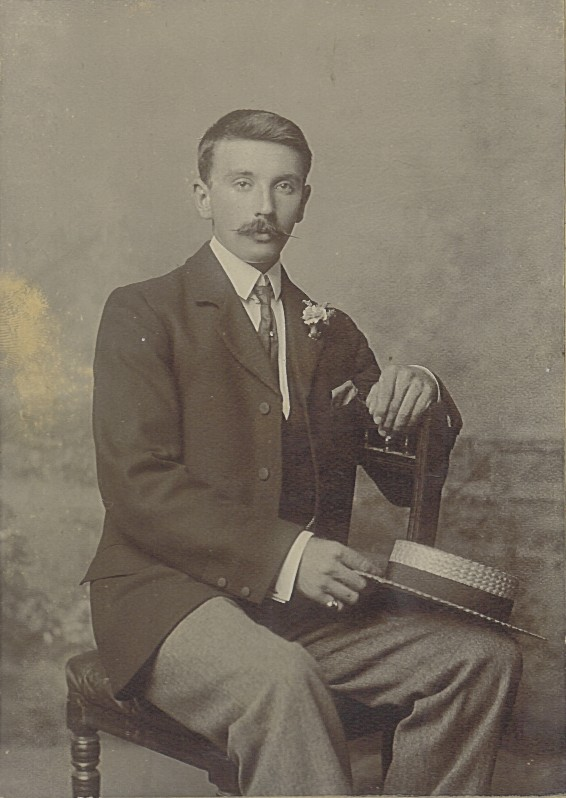"Photograph described ""Arthur Rupert Morgan"""